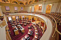 Senate Chamber, at the New Jersey Legislative State House, Trenton, New Jersey