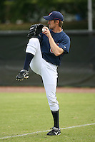 March 20th 2008:  Jeremy Sowers of the Cleveland Indians during a Spring Training game at Chain of Lakes Park in Winter Haven, FL.  Photo by:  Mike Janes/Four Seam Images