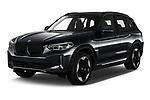 Front three quarter view of a 2021 BMW iX3 Impressive 5 Door SUV