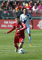 30 March 2013:Toronto FC midfielder Jonathan Osorio #21 a Brampton Ontario Canada native scored his first MLS goal during an MLS game between the LA Galaxy and Toronto FC at BMO Field in Toronto, Ontario Canada..The game ended in a 2-2 draw..