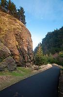 Discovery Trail near North Head, Ilwaco, Washington, US