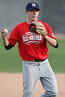 January 16, 2010:  Dalton Barge (Manhattan Beach, CA) of the Baseball Factory USA Team during the 2010 Under Armour Pre-Season All-America Tournament at Kino Sports Complex in Tucson, AZ.  Photo By Mike Janes/Four Seam Images