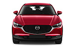 Car photography straight front view of a 2020 Mazda CX 30 Skydrive-Lux 5 Door SUV