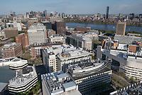 Tech Square, MIT aerial views, Cambridge, MA