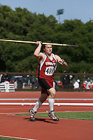 4 May 2008: Stanford Cardinal Daniel Haddock during Stanford's Payton Jordan Cardinal Invitational at Cobb Track & Angell Field in Stanford, CA.