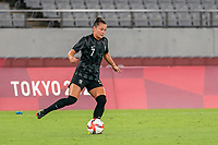 21st July 2021. Tokyo, Japan;  Ali Riley from New Zealand during the entee Australia and New Zealand football match at the 2021 Tokyo Olympic Games held in 2021 in Tokyo, Japan.
