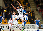 St Johnstone v Inverness Caley Thistle…09.03.16  SPFL McDiarmid Park, Perth<br />Gary Warren and Chris Kane<br />Picture by Graeme Hart.<br />Copyright Perthshire Picture Agency<br />Tel: 01738 623350  Mobile: 07990 594431