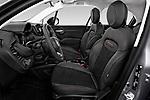 Front seat view of 2019 Fiat 500X Cross-S-Design 5 Door SUV Front Seat  car photos