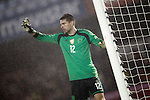 Germany's Zieler during international friendly match.November 18,2014. (ALTERPHOTOS/Acero)