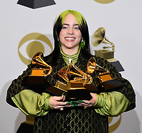 1/26/20 - Los Angeles: 62nd Annual Grammy Awards - Photo Room