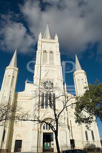 Montes Claros, Minas Gerais, Brazil. Cathedral of Nossa Senhora Aparecida.