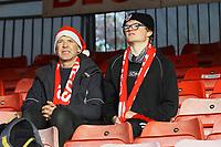 Crawley fans returns ahead of Crawley Town vs Barrow, Sky Bet EFL League 2 Football at Broadfield Stadium on 12th December 2020