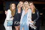 Enjoying the evening in Killarney on Saturday, l to r: Sarah Delaney (Killarney), Molly McBride, Maria Corry and Sally Anne Travers (Fossa).