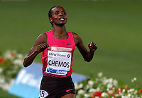 Golden Gala di atletica leggera allo stadio Olimpico di Roma, 6 giugno 2013.<br /> Kenya's Milcah Chemos wins the women's 3000 meters steeplechase race at the Golden Gala IAAF athletics meeting at Rome's Olympic stadium, 6 June 2013.<br /> UPDATE IMAGES PRESS/Riccardo De Luca