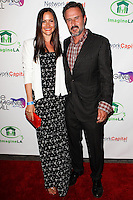 WEST HOLLYWOOD, CA, USA - AUGUST 06: Christina McLarty, David Arquette at The Imagine Ball Presented By John Terzian & Randall Kaplan Benefiting Imagine LA held at the House of Blues Sunset Strip on August 6, 2014 in West Hollywood, California, United States. (Photo by Celebrity Monitor)