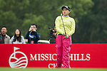 Han Sol Ji of South Korea tees off at the 17th hole during Round 2 of the World Ladies Championship 2016 on 12 March 2016 at Mission Hills Olazabal Golf Course in Dongguan, China. Photo by Victor Fraile / Power Sport Images