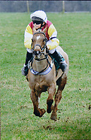 UNKNOWN COPYRIGHT<br /> Pictured: James Bowen riding Bush the Button when he was 10. Wednesday 10 January 2018<br /> Re: Peter Bower Racing in Little Newcastle, west Wales, UK.
