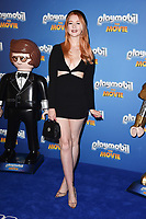 "Victoria Clay<br /> arriving for the ""Playmobil:The Movie"" premiere at the Vue Leicester Square, London<br /> <br /> ©Ash Knotek  D3515  04/08/2019"