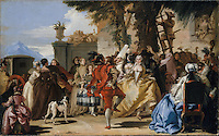 A Dance in the Country - by Giovanni Domenico Tiepolo, 1755
