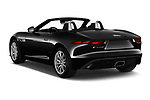 Car pictures of rear three quarter view of 2021 Jaguar F-Type - 2 Door Convertible Angular Rear