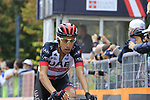 Fabio Aru (ITA) UAE Team Emirates crosses the finish line at the end of the 99th edition of Milan-Turin 2018, running 200km from Magenta Milan to Superga Basilica Turin, Italy. 10th October 2018.<br /> Picture: Eoin Clarke | Cyclefile<br /> <br /> <br /> All photos usage must carry mandatory copyright credit (© Cyclefile | Eoin Clarke)