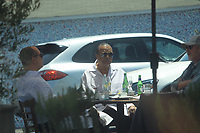 Billy Dee Williams Has Lunch In West Hollywood