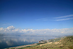 Golan Heights, a view of the Sea of Galilee from Mevo Hama