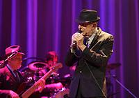 November 28 2012 file Photo - Leonard Cohen in concert