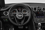 Car pictures of steering wheel view of a 2018 Bentley Bentayga Base 5 Door SUV