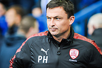 Barnsley's manager Paul Heckingbottom during the Sky Bet Championship match between Sheff Wednesday and Barnsley at Hillsborough, Sheffield, England on 28 October 2017. Photo by Stephen Buckley / PRiME Media Images.