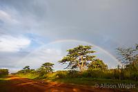 N. Uganda, Gwendiya, Gulu District. Doubel rainbow