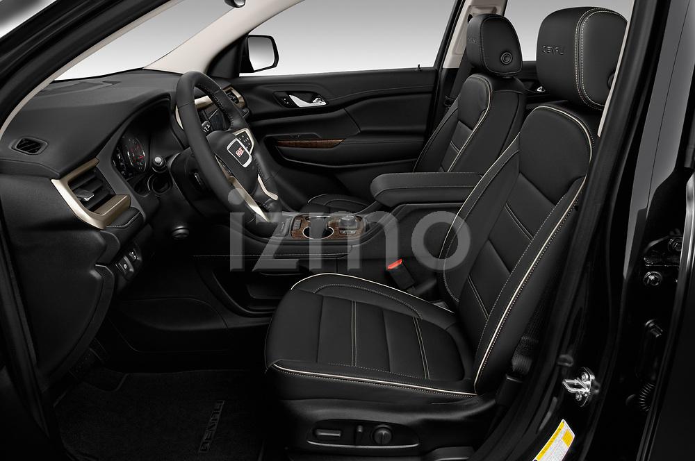 Front seat view of 2020 GMC Acadia Denali 5 Door SUV Front Seat  car photos