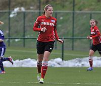 RSC Anderlecht Dames - PSV / FC Eindhoven : Marlou Peeters.foto David Catry / Vrouwenteam.be