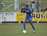 Switzerland U19 - France U19 : Aissatou Tounkara.foto DAVID CATRY / Nikonpro.be