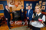 Ballygarry House Hotel, L to r: Liam Downey, Tadgh McGillicuddy, Padraig McGillicuddy and Sarah Twamley,