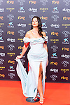 Singer Nathy Peluso attends the red carpet previous to Goya Awards 2021 Gala in Malaga . March 06, 2021. (Alterphotos/Francis González)