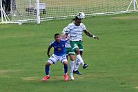 TULUA - COLOMBIA, 09-11-2020: Orsomarso SC y Deportes Quindío en partido por la fecha 16 del Torneo BetPlay DIMAYOR I 2020 jugado en el estadio Doce de Octubre de la ciudad de Tuluá. / Orsomarso SC and Deportes Quindio in match for the for the date 16 as part of BetPlay DIMAYOR Tournament I 2020 played at Doce de Octubre stadium in Tulua city. Photo: VizzorImage / Juan Jose Horta / Cont