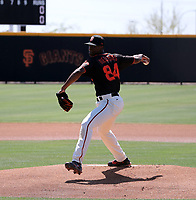 Manuel Mercedes - San Francisco Giants  2021 extended pring training (Bill Mitchell)