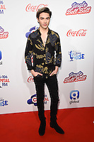 George Shelley<br /> at the Jingle Bell Ball 2016, O2 Arena, Greenwich, London.<br /> <br /> <br /> ©Ash Knotek  D3208  03/12/2016
