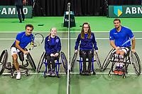 Rotterdam, The Netherlands, 16 Februari 2019, ABNAMRO World Tennis Tournament, Ahoy, Wheelchair singles, Final, Stephane Houdet (FRA) - Joachim Gerard (BEL),<br /> Photo: www.tennisimages.com/Henk Koster