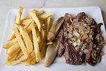 Steak, French Fries, L'Opportun, Paris, France, Europe