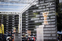 the Trofeo Senza Fine at the start of stage 5<br /> <br /> Stage 5: Frascati to Terracina (140km)<br /> 102nd Giro d'Italia 2019<br /> <br /> ©kramon