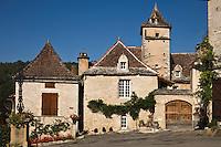 Europe/France/Midi-Pyrénées/46/Lot/Lherm: Place du Carralier