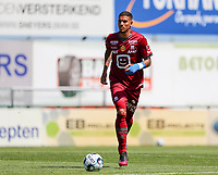 Vinicius Souza (33) of KV Mechelen with the ball during a friendly soccer game between KV Mechelen and the Greek Volos NFC during the preparations for the 2021-2022 season , on saturday 17 of July 2021 in GEEL , Belgium . PHOTO SEVIL OKTEM | SPORTPIX