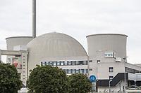 Das stillgelegte Atomkraftwerk Biblis in Hessen.<br /> 31.8.2021, Biblis<br /> Copyright: Christian-Ditsch.de