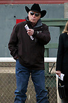 HOT SPRINGS, AR - JANUARY 15: Oaklawn legendary trainer D. Wayne Lukas before the running of the Smarty Jones at Oaklawn Park on January 15, 2018 in Hot Springs, Arkansas. (Photo by Justin Manning/Eclipse Sportswire/Getty Images)
