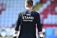We Stand Together EFL during Stevenage vs Bradford City, Sky Bet EFL League 2 Football at the Lamex Stadium on 5th April 2021