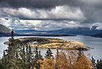 Bove Island on the Tagish Lake.