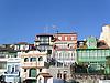 typical asturian facades<br /> <br /> fachadas típicas de Asturias<br /> <br /> typische asturische Fassaden