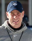 Mike Cavanaugh (UConn - Head Coach) - The UConn Huskies practiced at Fenway on Friday, January 13, 2017, in Boston, Massachusetts.